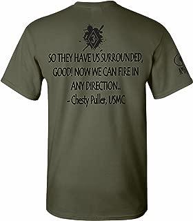 American Uprising Chesty Puller USMC Marine Corps T-Shirt Tee