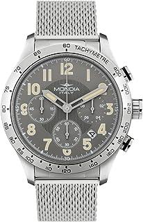 Mondia intrepido Chrono Mens Analog Japanese Quartz Watch with Stainless Steel Bracelet MI757-2BM