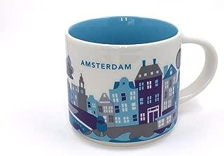 Starbucks You Are Here Amsterdam Ceramic Coffee Mug New with Box