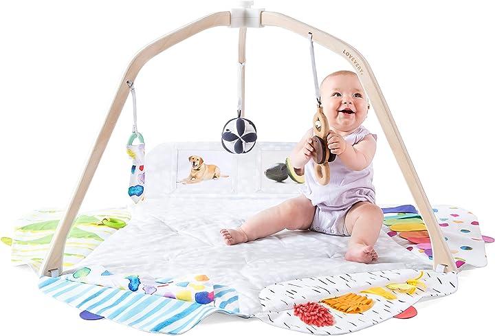 Palestrina per neonato sostenibile per le varie tappe della crescita lovevery la play gym 9000001