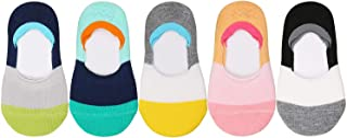 VWU Toddler Socks No Show Kids Baby Low Cut Cotton Socks Anti Slip 1-3/3-5Y