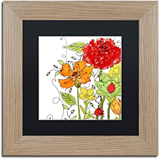 Aria II by Color Bakery, Black Matte, Birch Frame 11x11-Inch