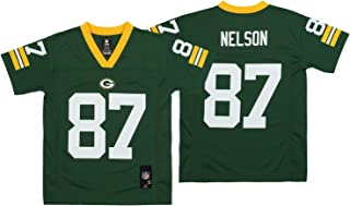 NFL Youth Boys (8-20) Green Bay Packers Jordy Nelson Team Color Player Jersey, Green
