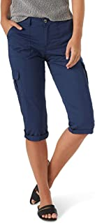 Lee womens Plus Size Flex-To-Go Relaxed Fit Cargo Capri Pant Pants