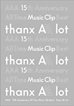 AAA 15th Anniversary All Time Music Clip Best -thanx AAA lot-(DVD3枚組)