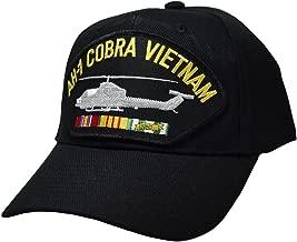 AH-1 Cobra Vietnam War Cap Black