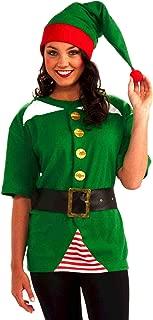 Unisex Adult Jolly Elf Costume Kit