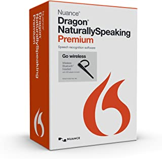 Nuance Dragon NaturallySpeaking Premium 13.0 with Dragon Bluetooth Wireless Headset (Discontinued)