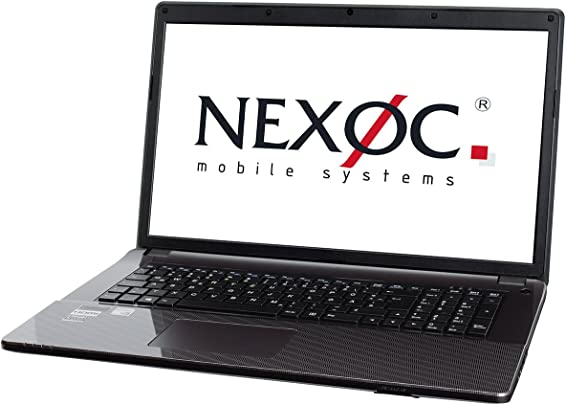 Nexoc S731II  37452  43 9 cm  17 3 Zoll  HD Plus non-Glare Display Laptop  Intel Core i3 6100H  Intel HD Graphics 530  250 GB SSD  2x 4GB DDR3L  kein Betriebssystem  schwarz