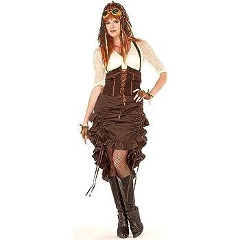 Disfraz de Pirata con falda para mujer: Amazon.es: Juguetes y juegos