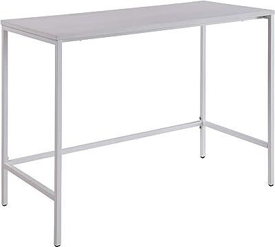 OSP Home Furnishings Contempo 42-Inch Desk, White