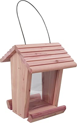 Pennington 100513431 Cedar Treater Bird Feeder, 2 LBS Capacity