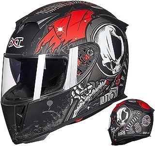 フルフェイスヘルメット バイクヘルメット メンズ 絵 ヘルメット レディース ダブルシールド くもり止め ヘルメット uvカット おおきいサイズ 通気吸汗 日焼け止め オールシーズン 内装 洗濯可 おしゃれ ヘルメット マットブラックレッド L 頭囲 57-58cm