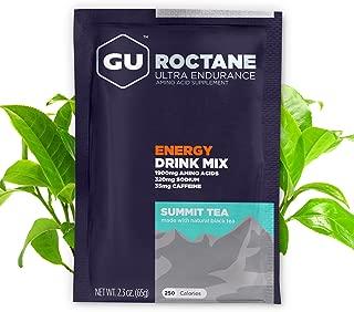 GU Energy Roctane Ultra Endurance Energy Drink Mix, 10 Single-Serving Packets, Summit Tea