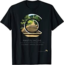 Colorado State Flag C Logo T Shirt - Manitou Incline