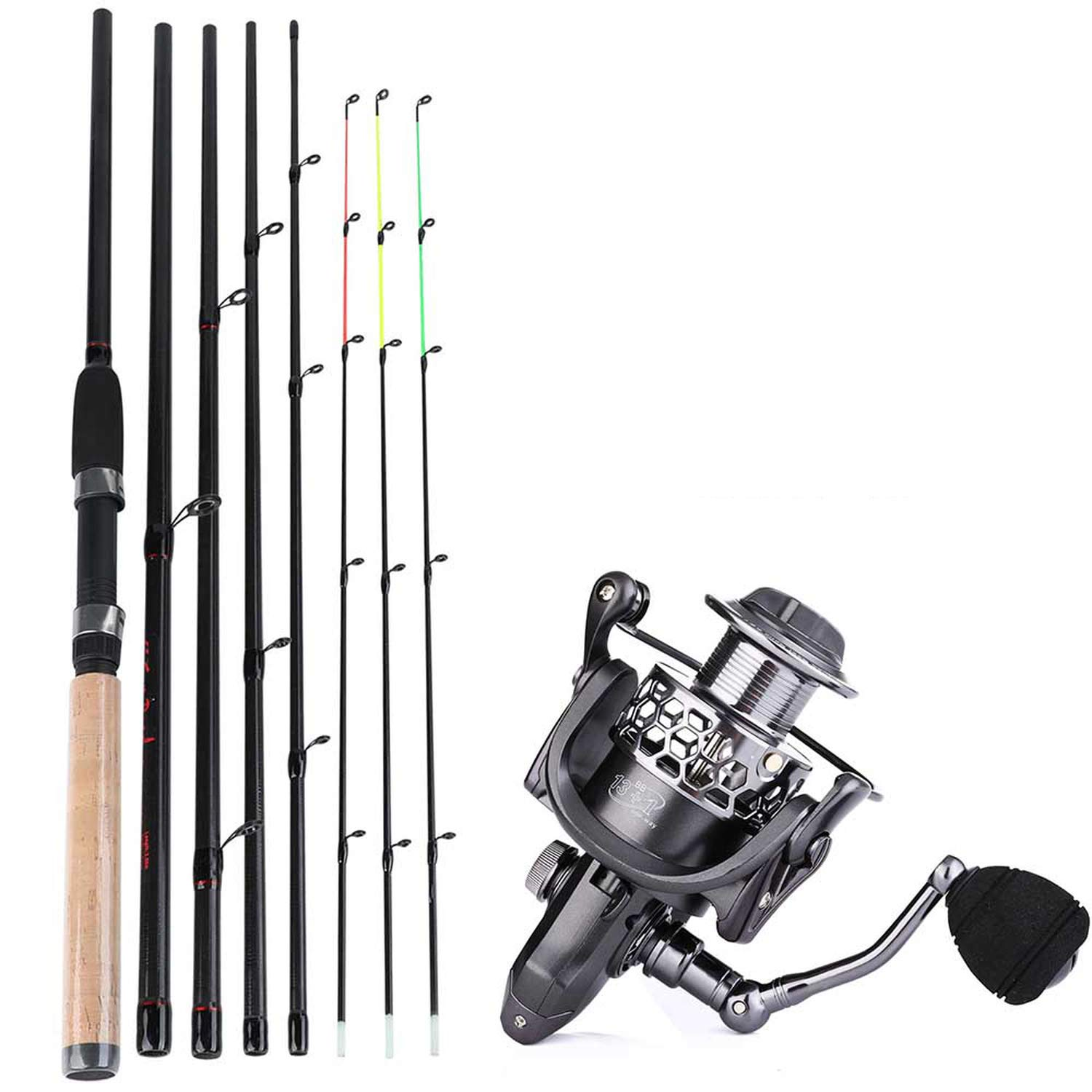 Blue shore Fishing Carbon Feeder Sections