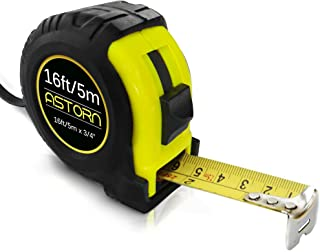 Measuring Tape For Contractors & DIY | Tape Measurer (Cinta Metrica) | Metric & Inches Measuring Tape for Construction | H...