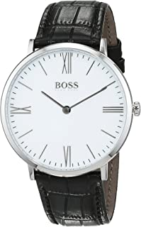 Hugo Boss Men 1513370 Year-Round Analog Quartz Black Watch