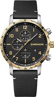 Hombre Attitude Chronograph - Reloj de Acero Inoxidable de Cuarzo analógico de fabricación Suiza 01.1543.111
