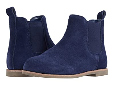 Janie and Jack Chelsea Boot (Toddler/Little Kid/Big Kid) (Navy) Boy