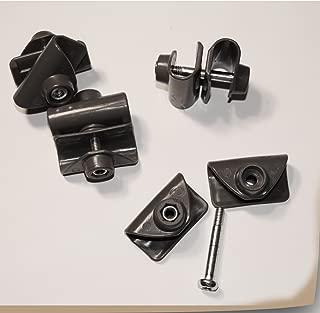 Set of 4 Coleman TRUSS BARS ENDS & CROSS Plastic Connectors for Coleman 12' x 12', 13' x 13', 10' x 10' Instant Canopy Gazebo Replacement Parts