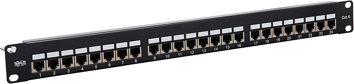 Tripp Lite RJ45 Tampa 2021 spring and summer new Mall Patch Panel Cat6 Cat5e Pat 24 Port