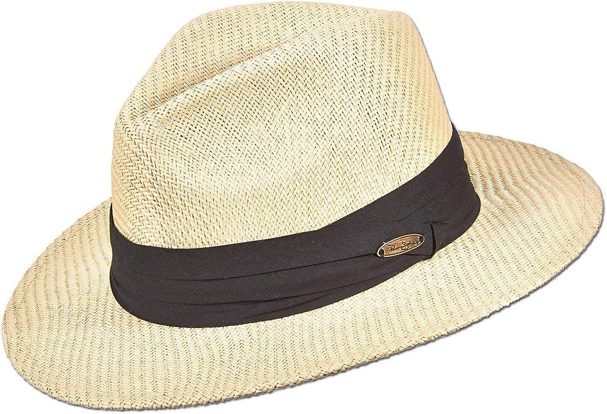 Matte Toyo Straw Max 68% OFF Safari Sun Band 3-Pleat Max 80% OFF with Ribbon Hat