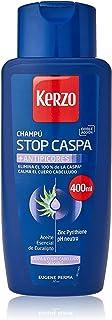 Kerzo - Champú Stop Caspa - Antipicores - Elimina el 100% de la Caspa y Calma el Cuero Cabelludo con Aceite Esencial de E...