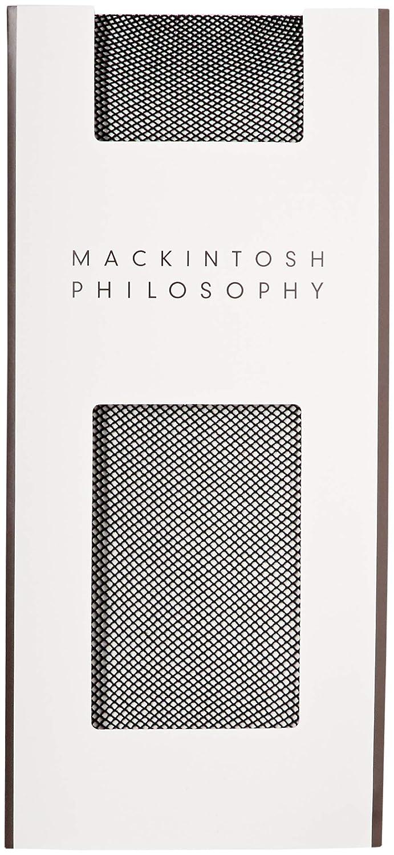 [マッキントッシュフィロソフィー] マイクロネット ショートストッキング Mackintosh Philosophy(マッキントッシュフィロソフィー) 2足組 307-7041 307Q7041