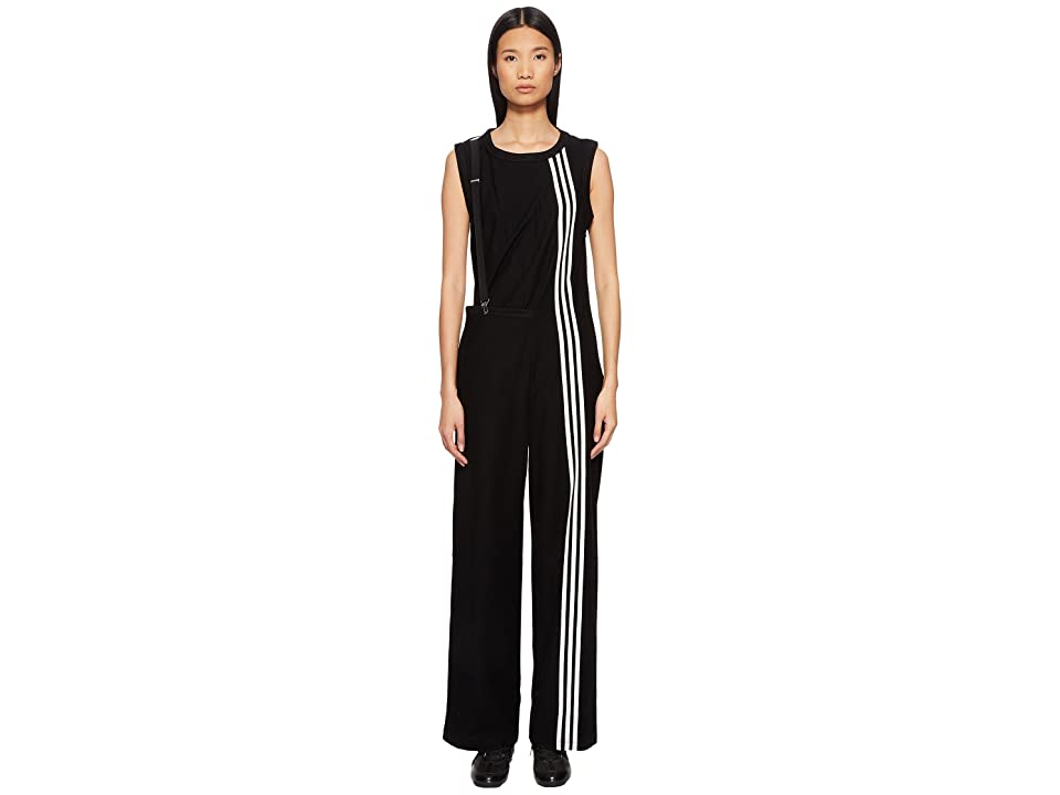 Image of adidas Y-3 by Yohji Yamamoto 3-Stripes Jumpsuit (Black) Women's Jumpsuit & Rompers One Piece