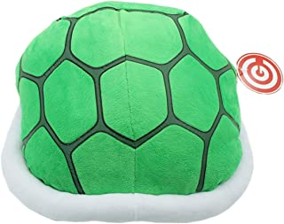 [Generic] New Super Mario Tortoise Shell Plush Pillow Green Turtle Cushion Pillow Green Height:30cm/12""