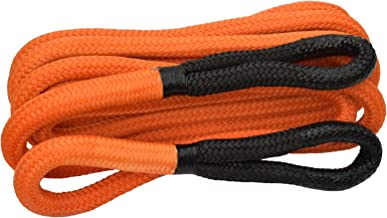 """Orange 1//4/""""*10ft ATV Plow Lift Rope,Synthetic Winch Cable,Winch Rope Extension"""