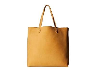 Madewell The Transport Tote (Bright Marigold) Handbags