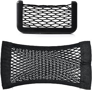 Universal Schwarz Auto Seiten Rückseiten Stamm Lagerung Net Taschen Beutel Gepäck Oganizer Mesh Tasche Taschen