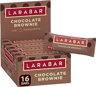 Larabar Gluten Free Chocolate Brownie Fruit and Nut Energy Bar, 16-Count, 720 Gram