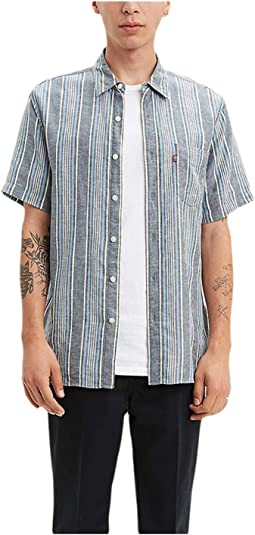 Aiden Dress Blues Stripe
