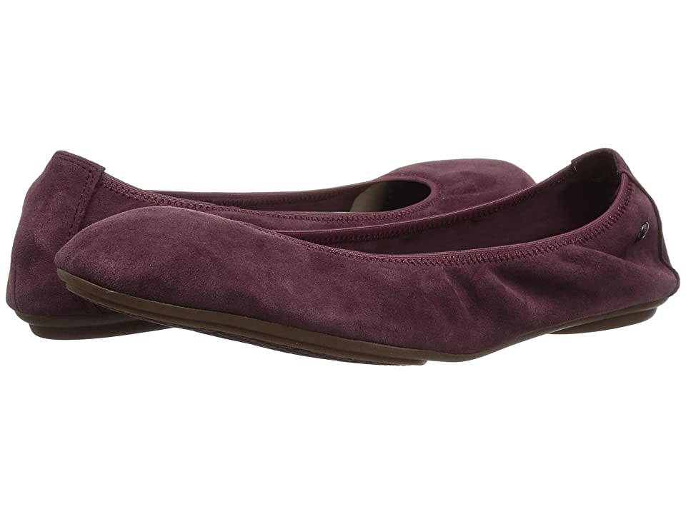 Hush Puppies Chaste Ballet (Dark Wine Suede) Women