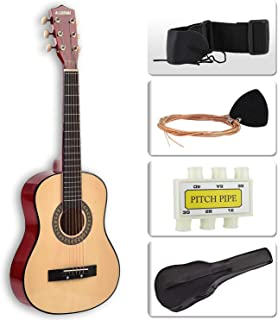LAGRIMA Acoustic Guitar Beginners with Guitar Case, Strap, Tuner & Pick Steel Strings for Kids and Adults (30