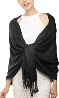 Women's Silky Scarf Pashmina Shawls and Wraps for Wedding Favors Bride Bridesmaid Gifts Evening Dress Shawl