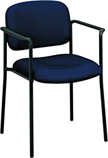 HON Scatter Guest Chair with Arms, Office Furniture, Navy (VL616)