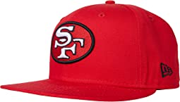 NFL Basic Snap 9FIFTY Snapback Cap - San Francisco 49ers