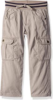 Boys' Big Loose Fit Straight Cargo Pants
