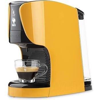 Bialetti - Cafetera expreso Opera para cápsulas de aluminio, sistema Bialetti, el café de Italia ocre: Amazon.es: Hogar