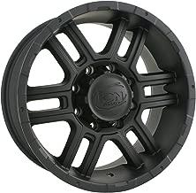 Ion Alloy 179 Matte Black Wheel (17x8