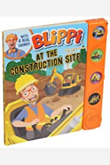 Blippi: At the Construction Site Board book