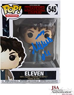 Millie Bobby Brown Autographed/Signed Stranger Things Funko Pop! #545 Action Figure With