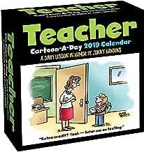 Teacher Cartoon-a-Day 2019 Calendar