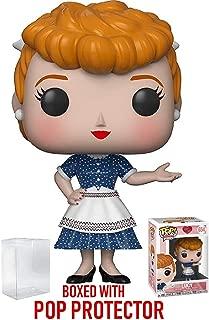Funko Pop! TV: I Love Lucy - Lucy Ricardo Vinyl Figure (Bundled Pop Box Protector Case)