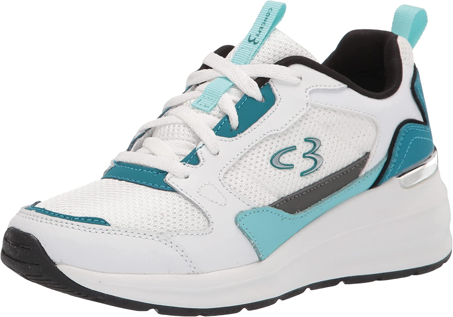 Concept 3 Minneapolis Mall by Skechers Women's Sunshine Elevated Sneaker Inexpensive