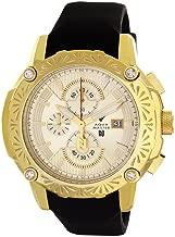 Aqua Master El Russo Nicky Jam Chrono Gold-Tone Dial Diamond Men's Watch NJ104